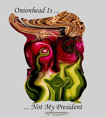 Photograph - Onionhead Transparency by Robert Woodward