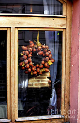 Prague Photograph - Onions In The Window by John Rizzuto