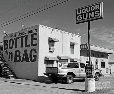 Funny Signs Photograph - Only In Texas by Joe Jake Pratt