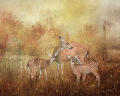 Photograph - Only Love Can Do That - Wildlife Art by Jordan Blackstone