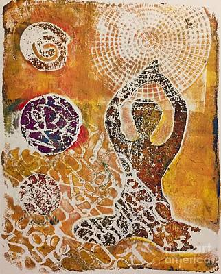 Mixed Media - Only Peace by Corina Stupu Thomas