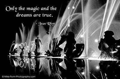 Only The Magic And The Dreams Art Print