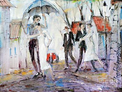 Painting - Only You by Oleg Poberezhnyi