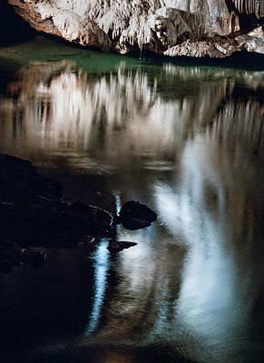 Photograph - Onondaga Cave 3 by Susan Garrett