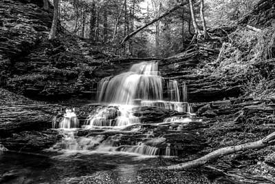 Photograph - Onondaga Falls - 8923 by G L Sarti