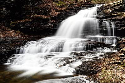 Photograph - Onondaga Falls by Larry Ricker