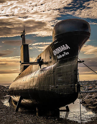 Onondaga Submarine Art Print by Tracy Munson