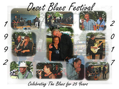 Photograph - Onset Celebrates 25 Years Of Blues by Bruce Gannon