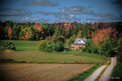 Photograph - Ontario Farm In The Fall by Patrick Boening