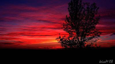 Art Print featuring the photograph Ontario Sunset 6013 by Maciek Froncisz