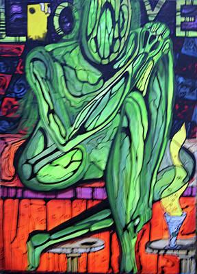Onthebar Art Print by Ottoniel Lima