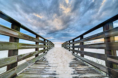Photograph - Onto The Beach In Gulf Shores by JC Findley