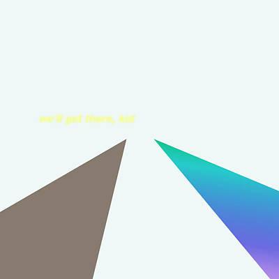 Digital Art - onward - XL limited run by Lars B Amble