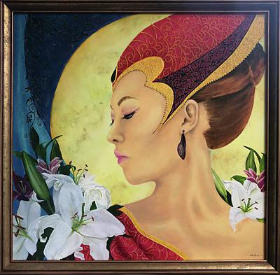 Painting - Onyx by Alexandra Louie