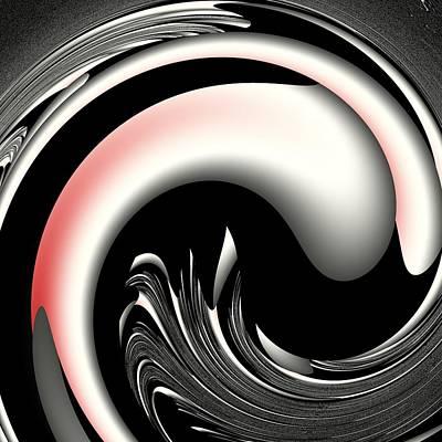 Digital Art - Onyx by Mike Turner