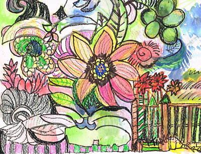 Oodles Of Doodles Art Print by Anne-Elizabeth Whiteway
