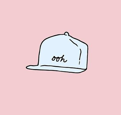 Ooh Hat Art Print
