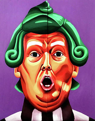 Oompa Loompa Trump Original by Adam Campbell