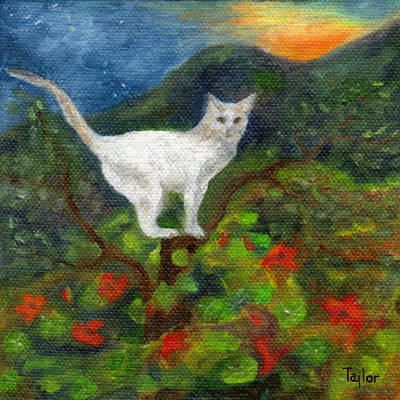 Painting - Oona Perching by FT McKinstry