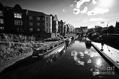 oozells street loop area birmingham canal navigations brindleys old main line Birmingham UK Art Print