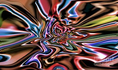 Digital Art - Oozing IIi by Jim Fitzpatrick