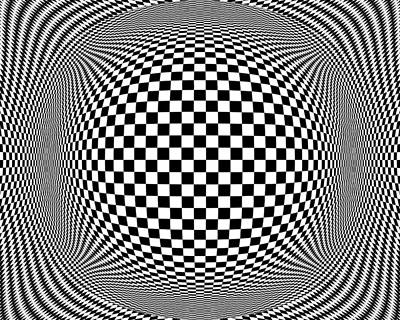 Op Art 1 Print by Anthony Caruso