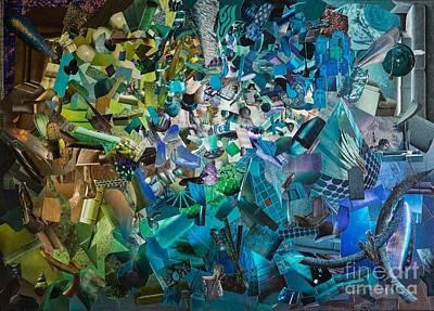 Mixed Media - Opal by Andrea Ignacio