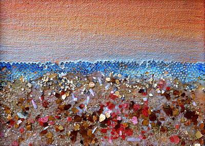 Opal Beach Original by Regina Valluzzi