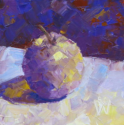 Painting - Opal In Lavender by Susan Woodward