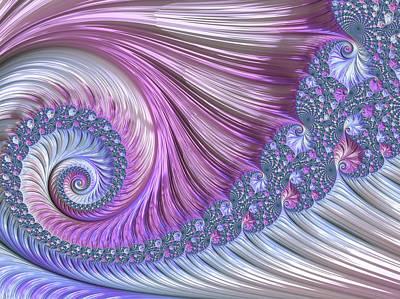 Opal Nautilus Art Print