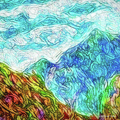 Digital Art - Opalescent Atmospheres by Joel Bruce Wallach