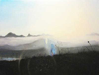 Opalescent Maria Art Print