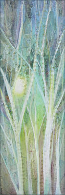 Featured Tapestry Designs - Opalescent Twilight I by Shadia Derbyshire