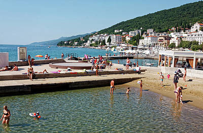 Photograph - Opatija Lungomare by Sally Weigand
