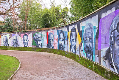 Photograph - Opatija Wall Of Fame In The Angiolina Park by Brch Photography