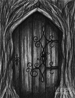 Drawing - Open A New Door by J Ferwerda