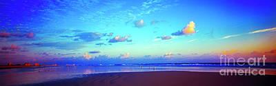 Photograph - Open Beach Ponce Inlet Atlantic Ocean by Tom Jelen