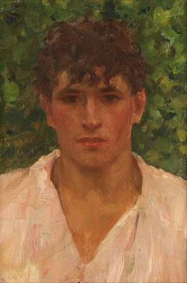 Open Collar Original by Henry Scott Tuke