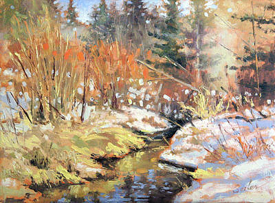 Painting - Open Creek by Larry Seiler