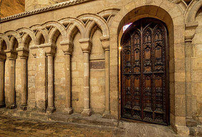 Photograph - Open Door At Ely by Jean Noren