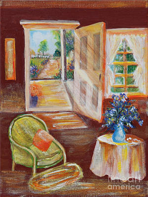 Painting - Open Door by Pati Pelz