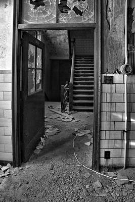 Photograph - Open Door Policy by CA  Johnson