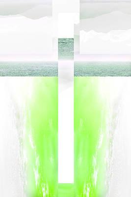 Digital Art - Open Door Two by Payet Emmanuel
