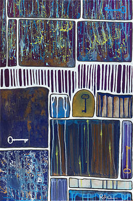 Painting - Open Doors by Robin Winningham