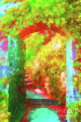 Digital Art - Open Gate by Diane Macdonald