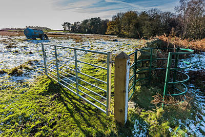 Photograph - Open Gate by Nick Bywater