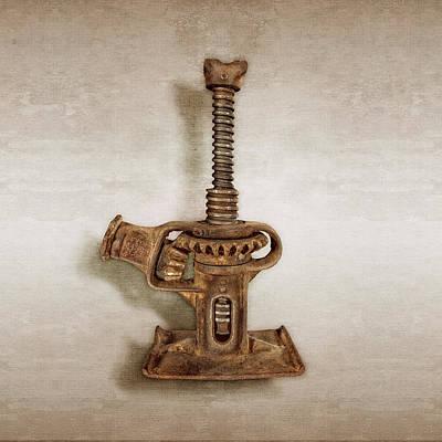 Photograph - Open Gear Screw Jack  II by YoPedro