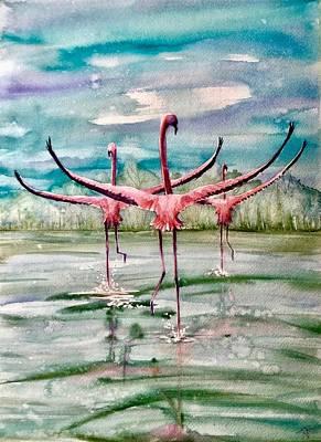 Painting - Open Horizon by Katerina Kovatcheva