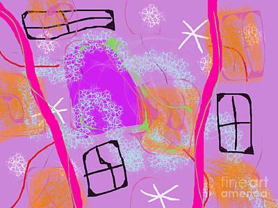 Digital Art - Open House by Chani Demuijlder