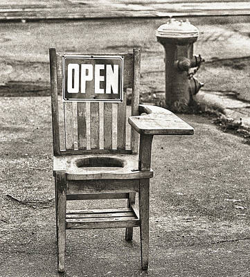 Photograph - Open by Jeffrey Jensen